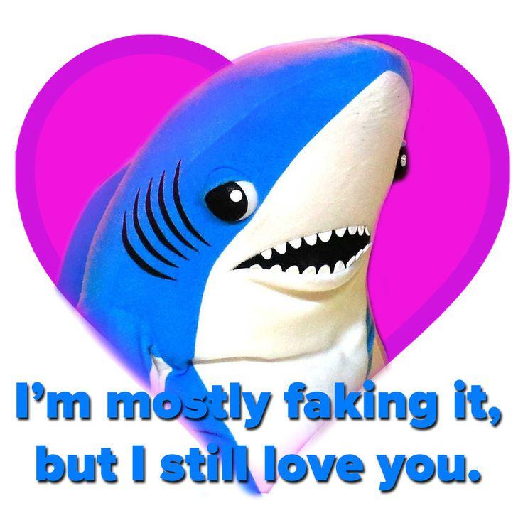Shark clipart valentine #11
