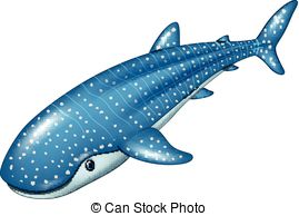 Whale Shark clipart Whale shark Vector Shark a