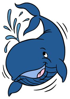 Sharkwhale clipart whale spout #10