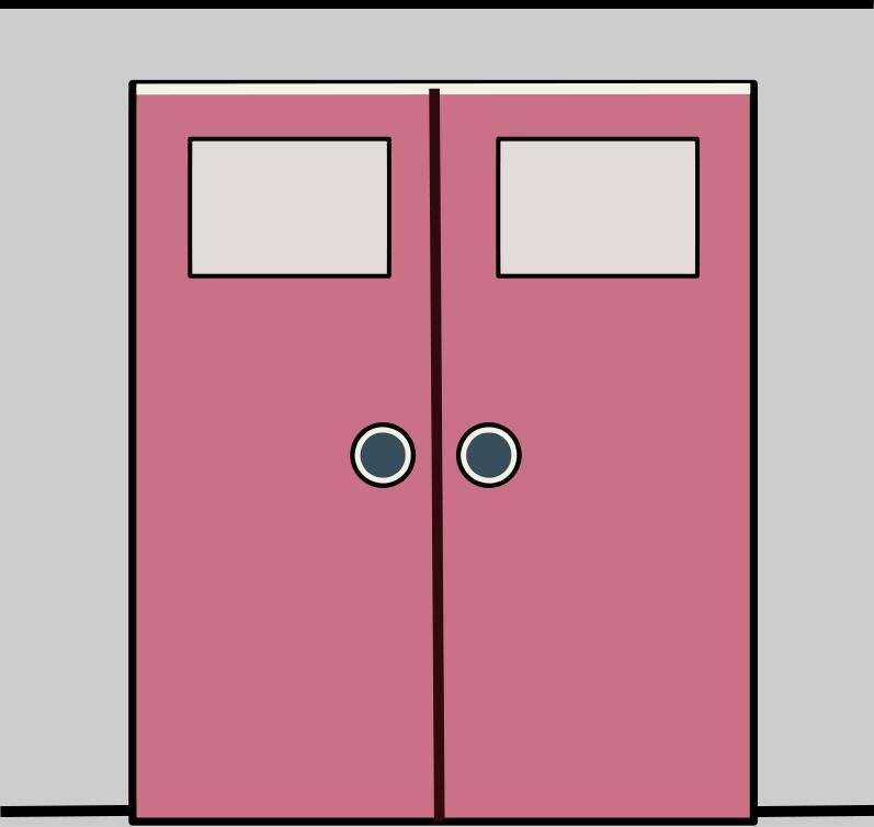 Doorway clipart front door #8
