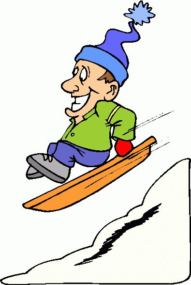 Shed clipart Sled Clipart Sledding clipart WINTER sledding images