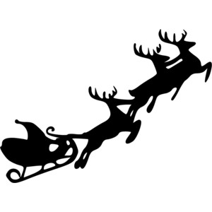 Sleigh clipart deer Penguin Its Clipart A About