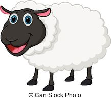 Sheep clipart Cartoon Clipart Happy Illustration 14