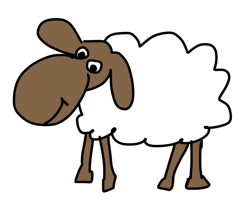 Sheep clipart Sheep Domain Simple Art Art