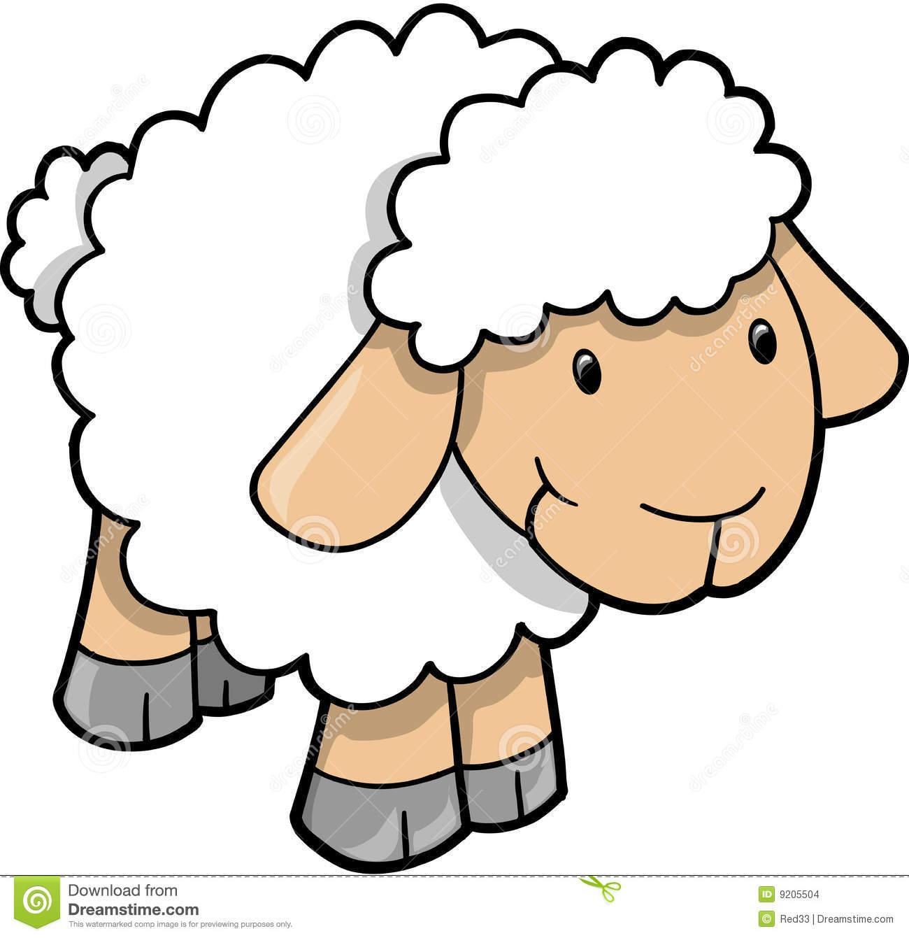 Sheep clipart baby lamb #7