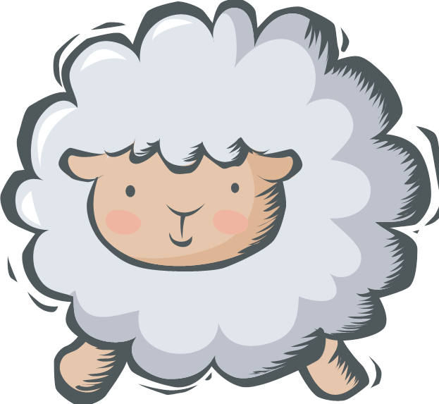 Sheep clipart for kid #4