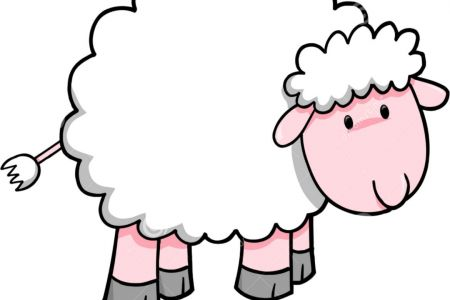 Sheep clipart for kid #6
