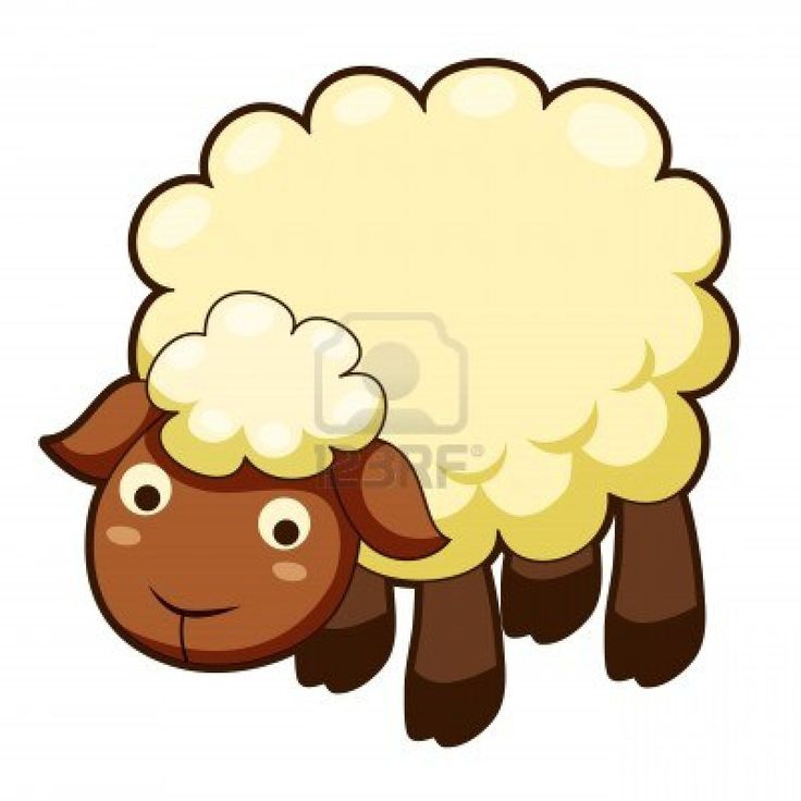 Sheep clipart mother and baby #10