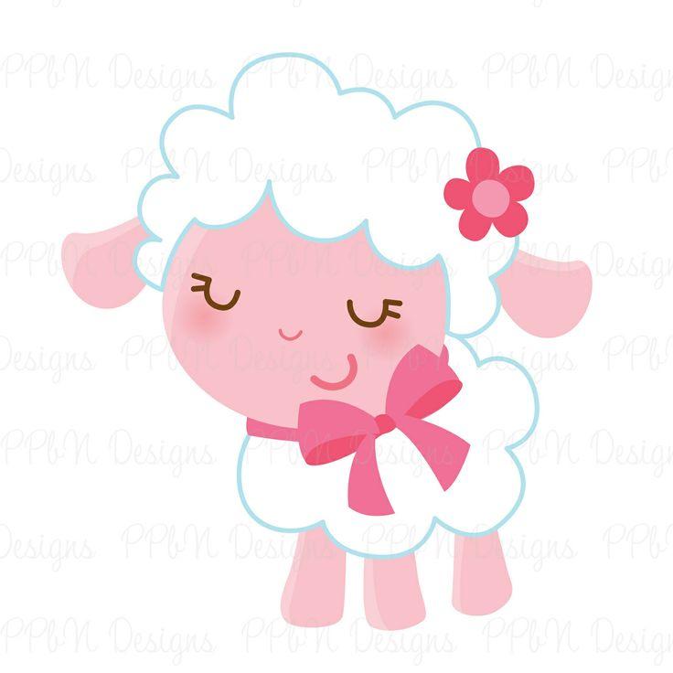 Sheep clipart pink sheep #9