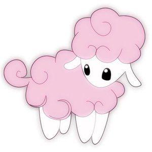 Sheep clipart pink sheep #8