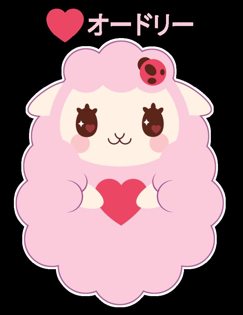 Sheep clipart pink sheep #7