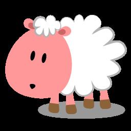 Sheep clipart pink sheep #6