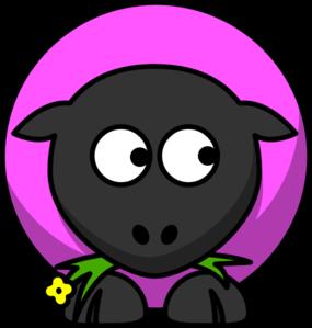 Sheep clipart pink sheep #10