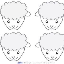 Sheep clipart printable #10