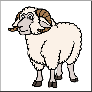 Sheep clipart ram #11