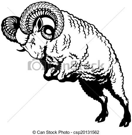 Sheep clipart ram #12