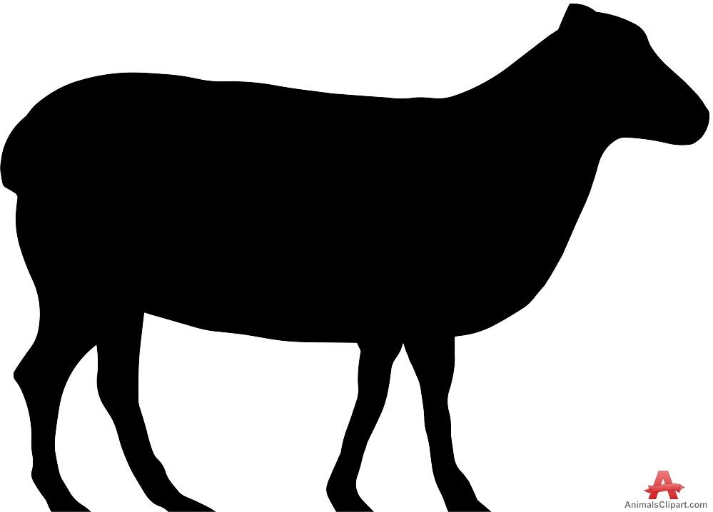 Sheep clipart shadow #6