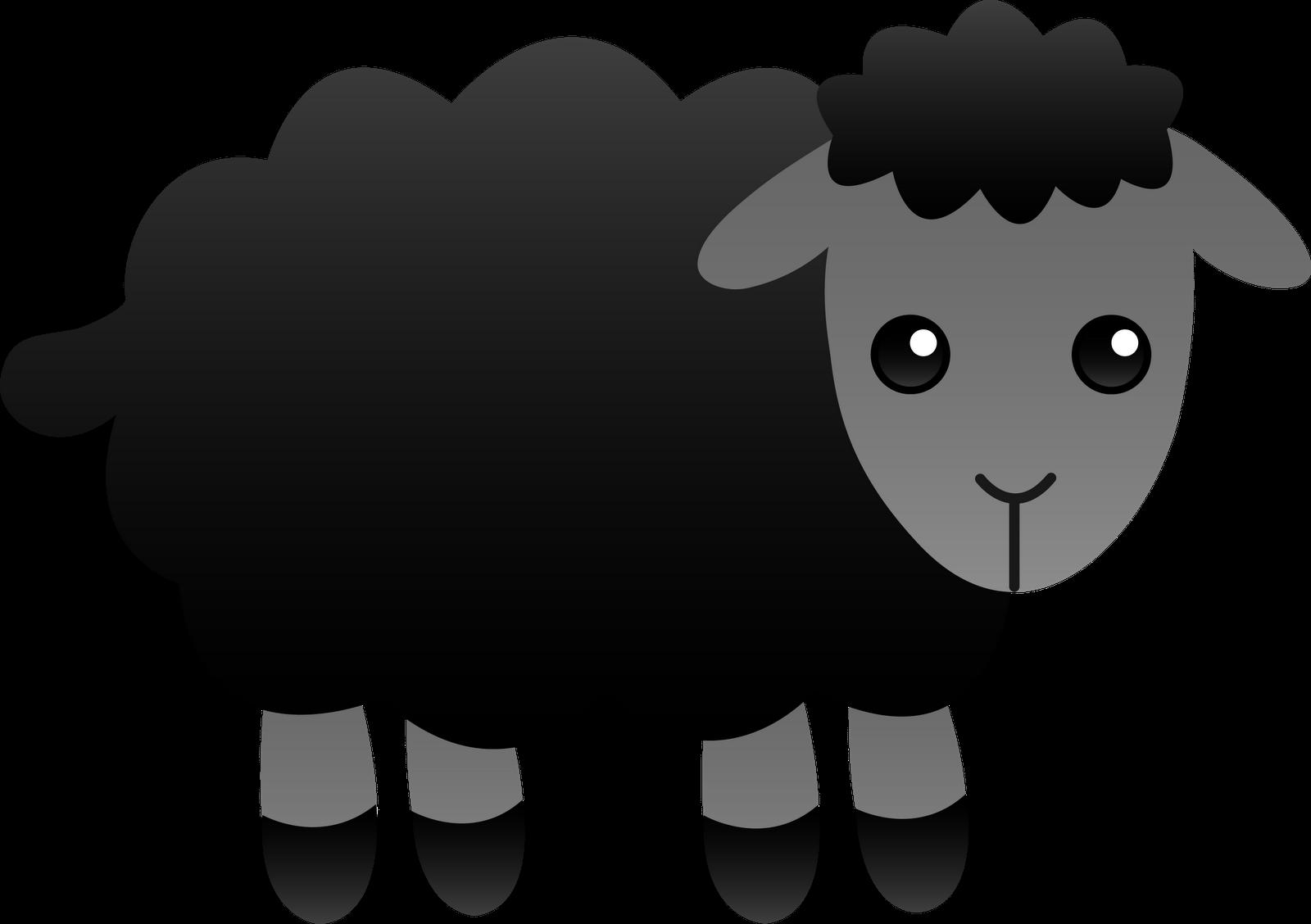 Sheep clipart shadow #7