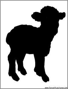 Sheep clipart shadow #8