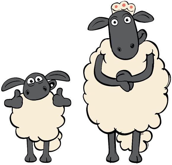 Sheep clipart shaun the sheep #3