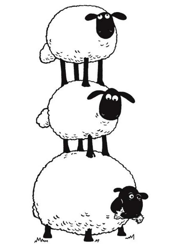 Sheep clipart shaun the sheep #9