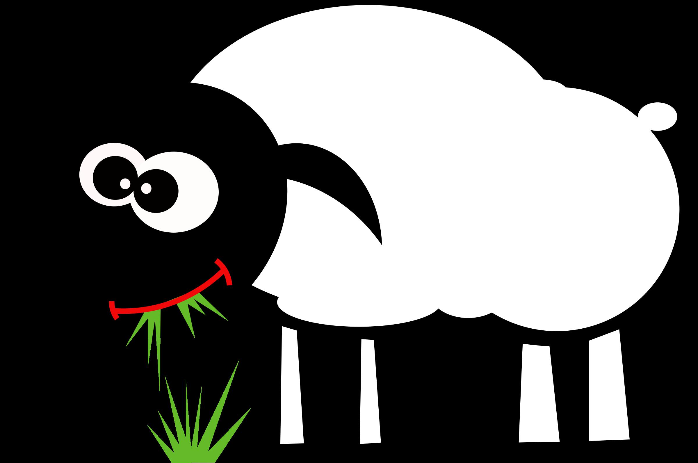 Sheep clipart sheep grazing #3