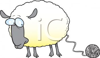 Sheep clipart sheep wool #5