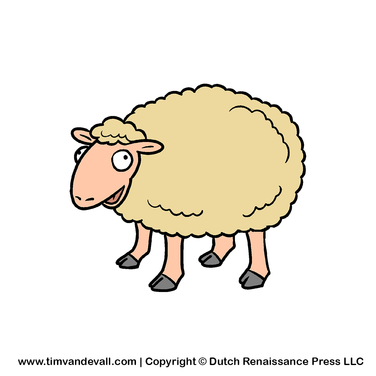 Sheep clipart small #3