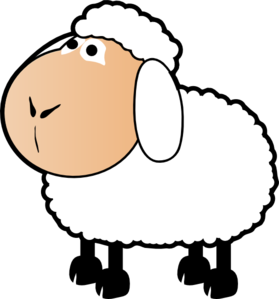 Sheep clipart small #4