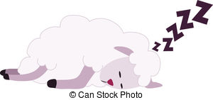 Sheep clipart tired #8
