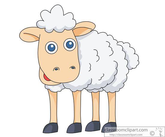 Sheep clipart transparent background #11