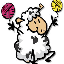 Sheep clipart yarn #4