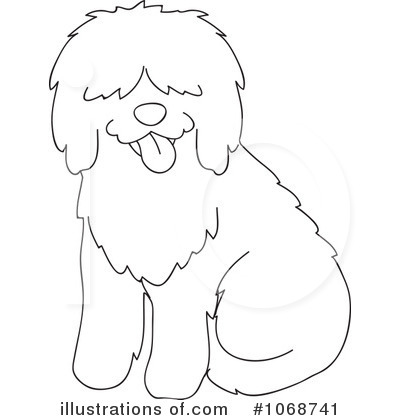 Sheepdog clipart (RF) by Rosie Royalty Rosie