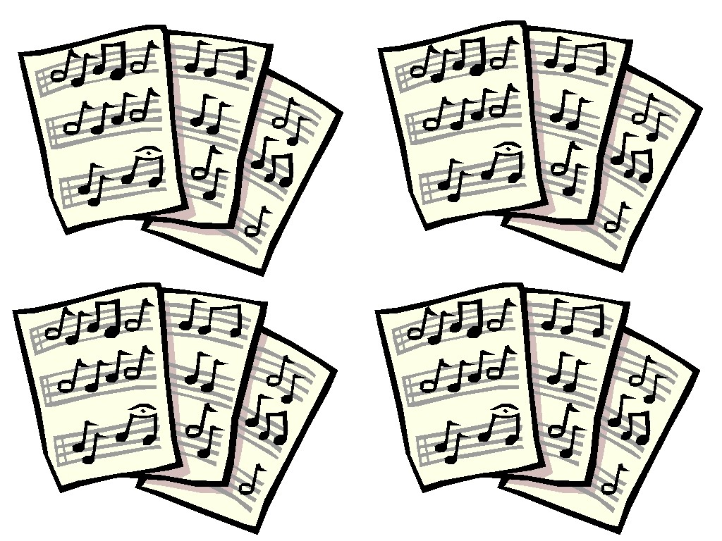Sheet Music clipart Music Clipart and Inspiration Others