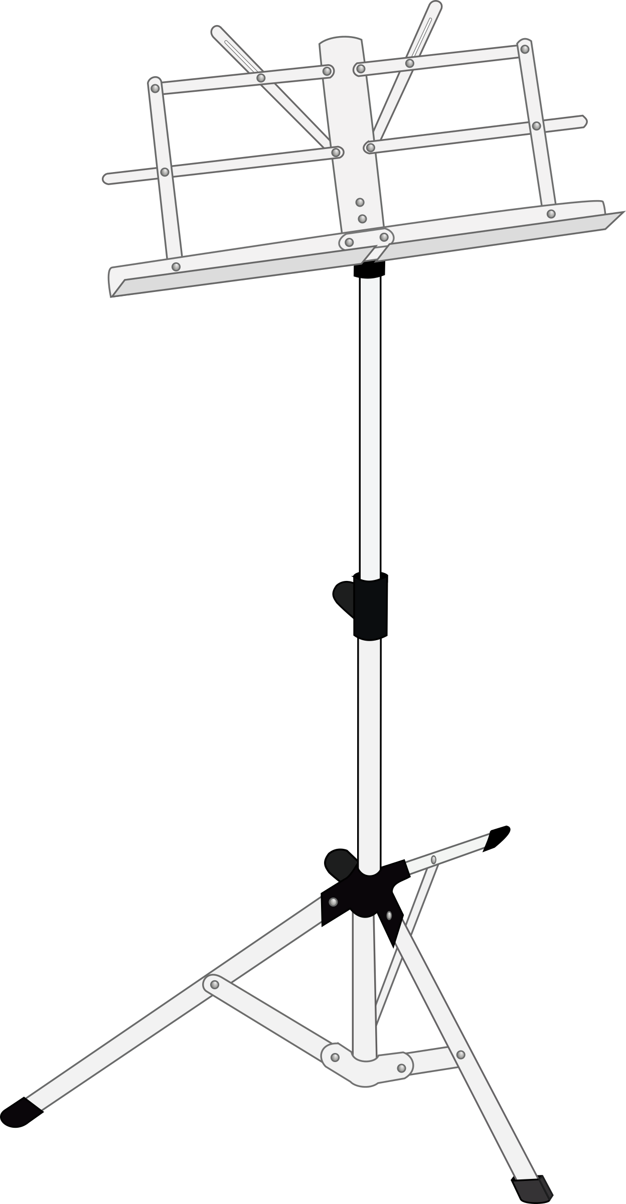 Sheet Music clipart advanced Stand Music Clipart Music stand