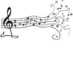 Sheet Music clipart band music #10