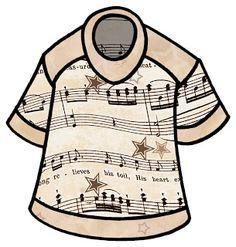 Sheet Music clipart choir #15