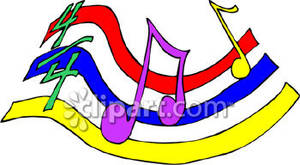 Sheet Music clipart colorful music #2