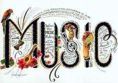 Sheet Music clipart folk music #14