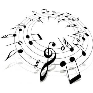 Sheet Music clipart folk music #5
