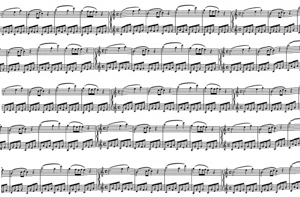 Sheet Music clipart free music #11
