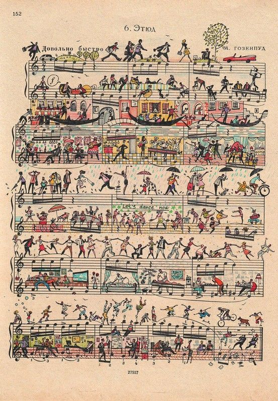 Sheet Music clipart free music #8