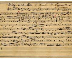 Sheet Music clipart italian #12