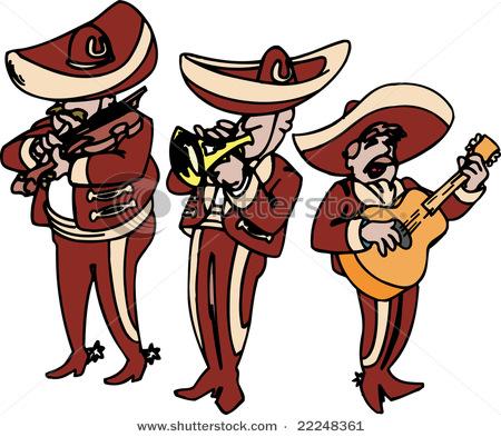 Sheet Music clipart mariachi #7