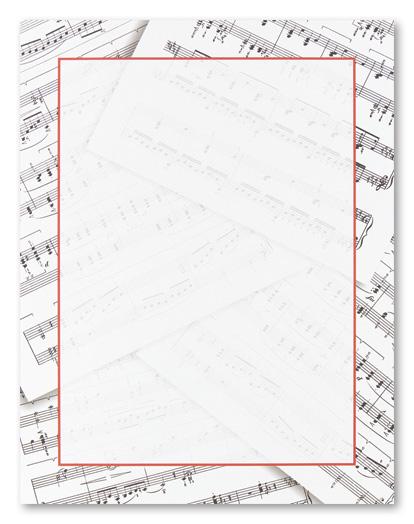 Sheet Music clipart music class Sheet Sheet Music Stationery Letterhead