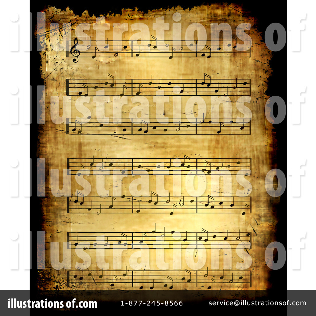 Sheet Music clipart music director BNP Free Design by (RF)