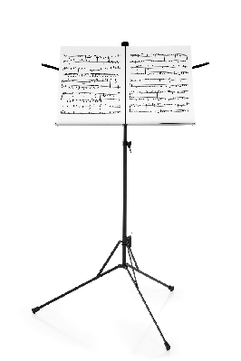 Sheet Music clipart music stand #7