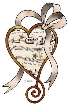 Sheet Music clipart musical chair <3 clipart MUSIC!! hearts find