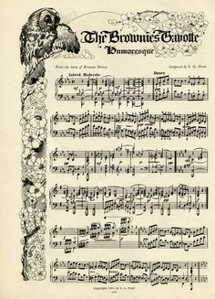 Sheet Music clipart old Of Music ~ Pratt 1