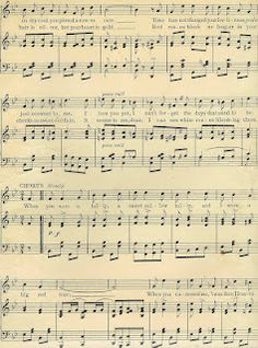 Sheet Music clipart old Something get I piano is